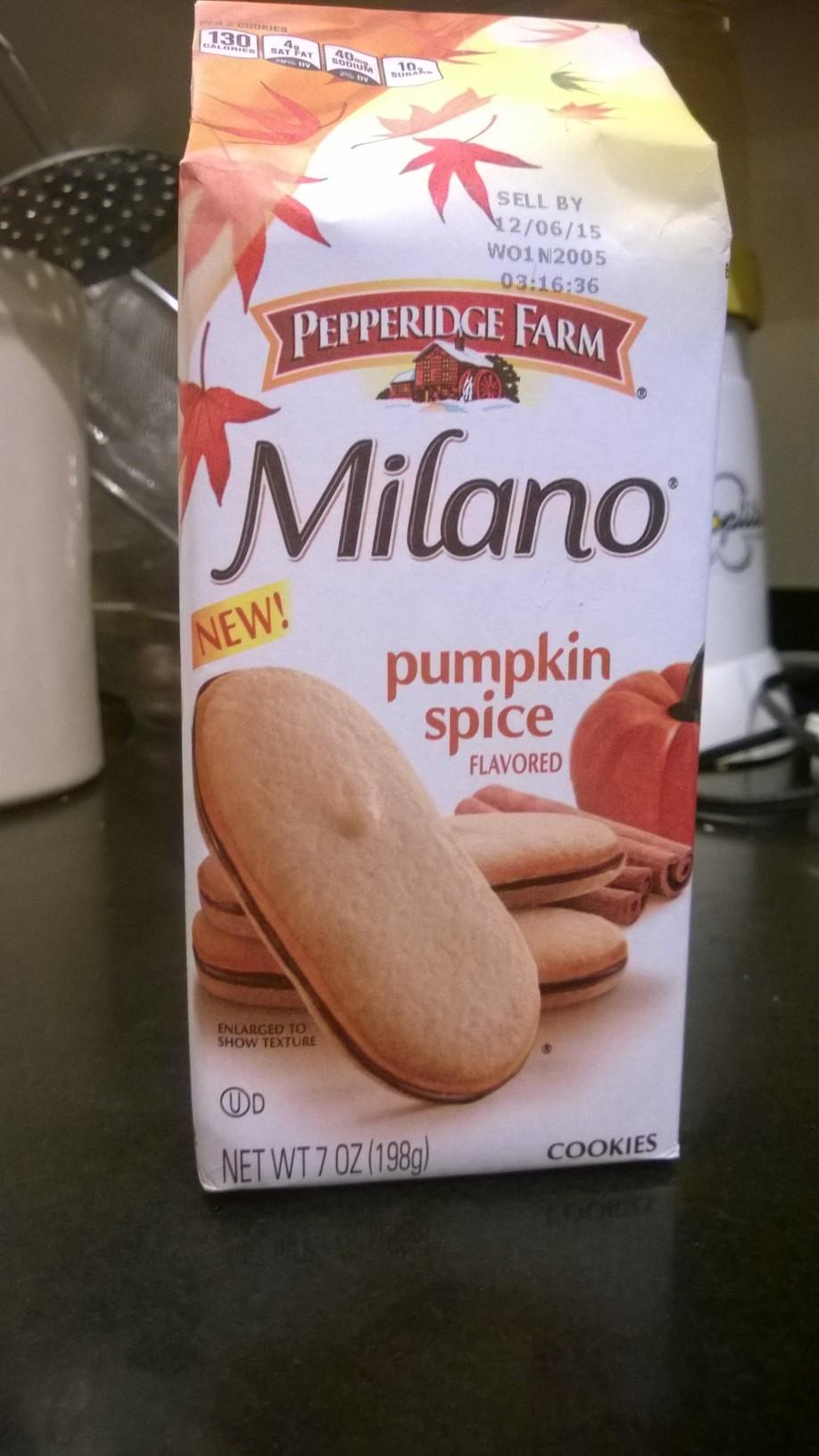 Pumpkin Spice Milanos.