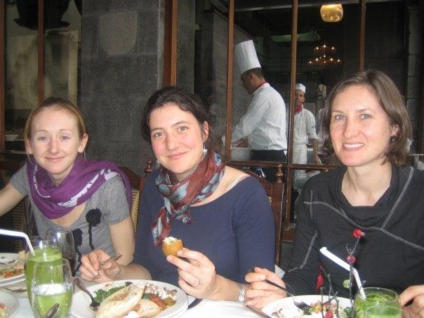 Dining at Naranj