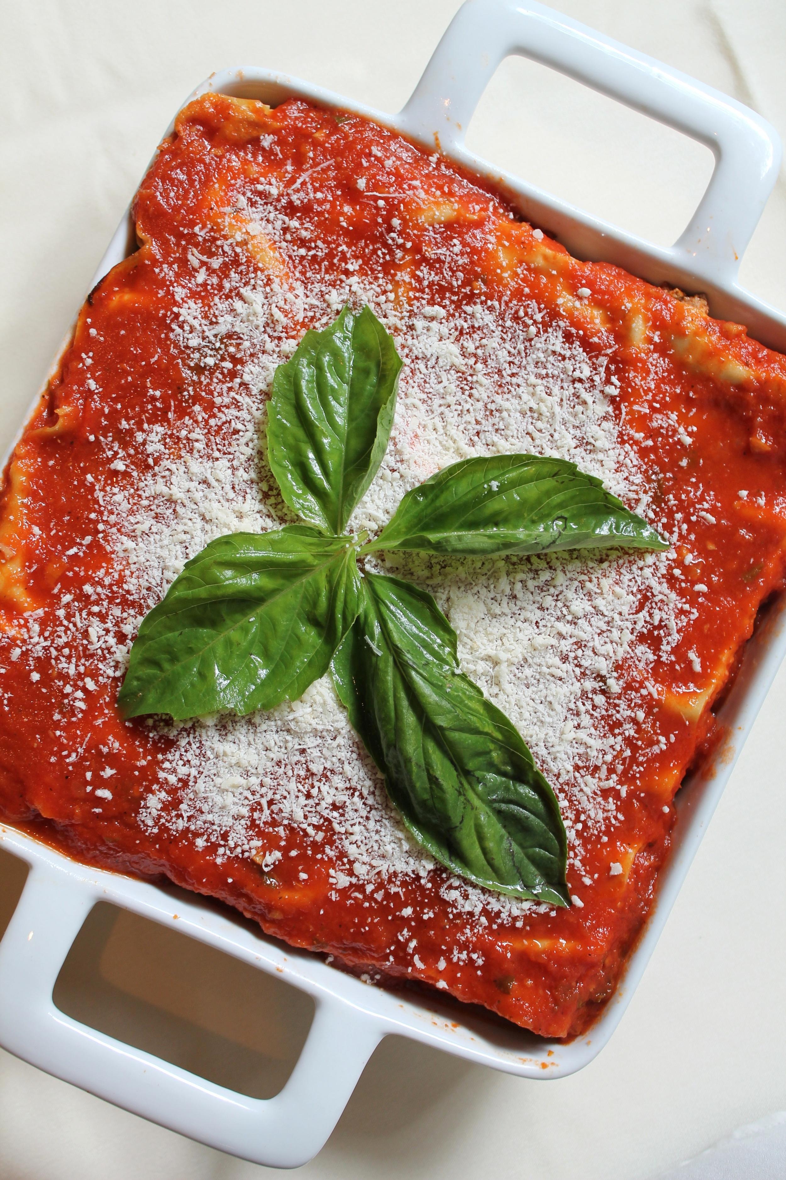 Lasagna from  Damian's Cucina Italiana
