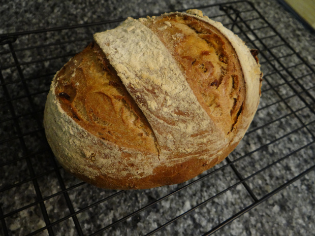 Beaujolais-Chorizo Bread