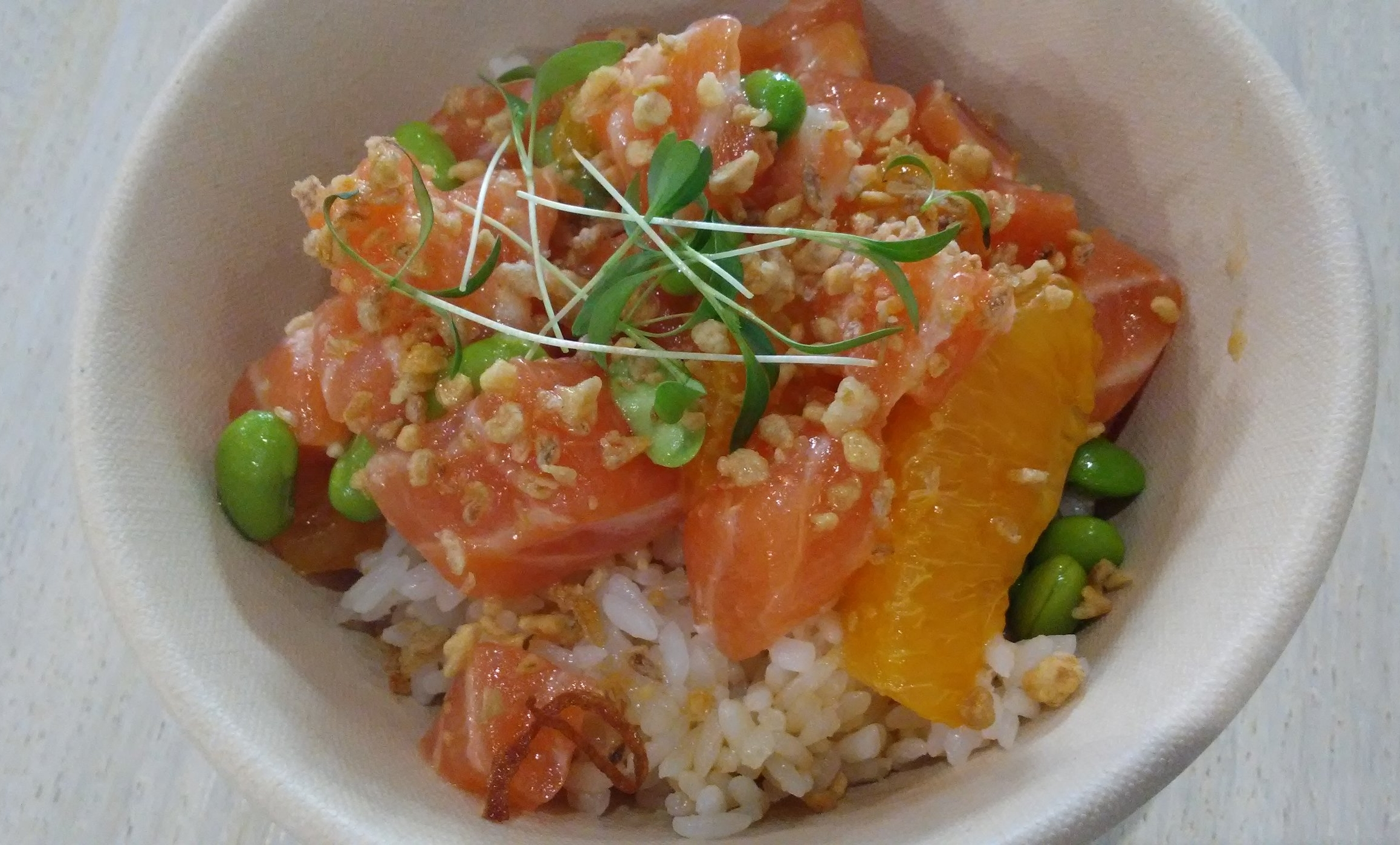 Salmon Ponzu Bowl