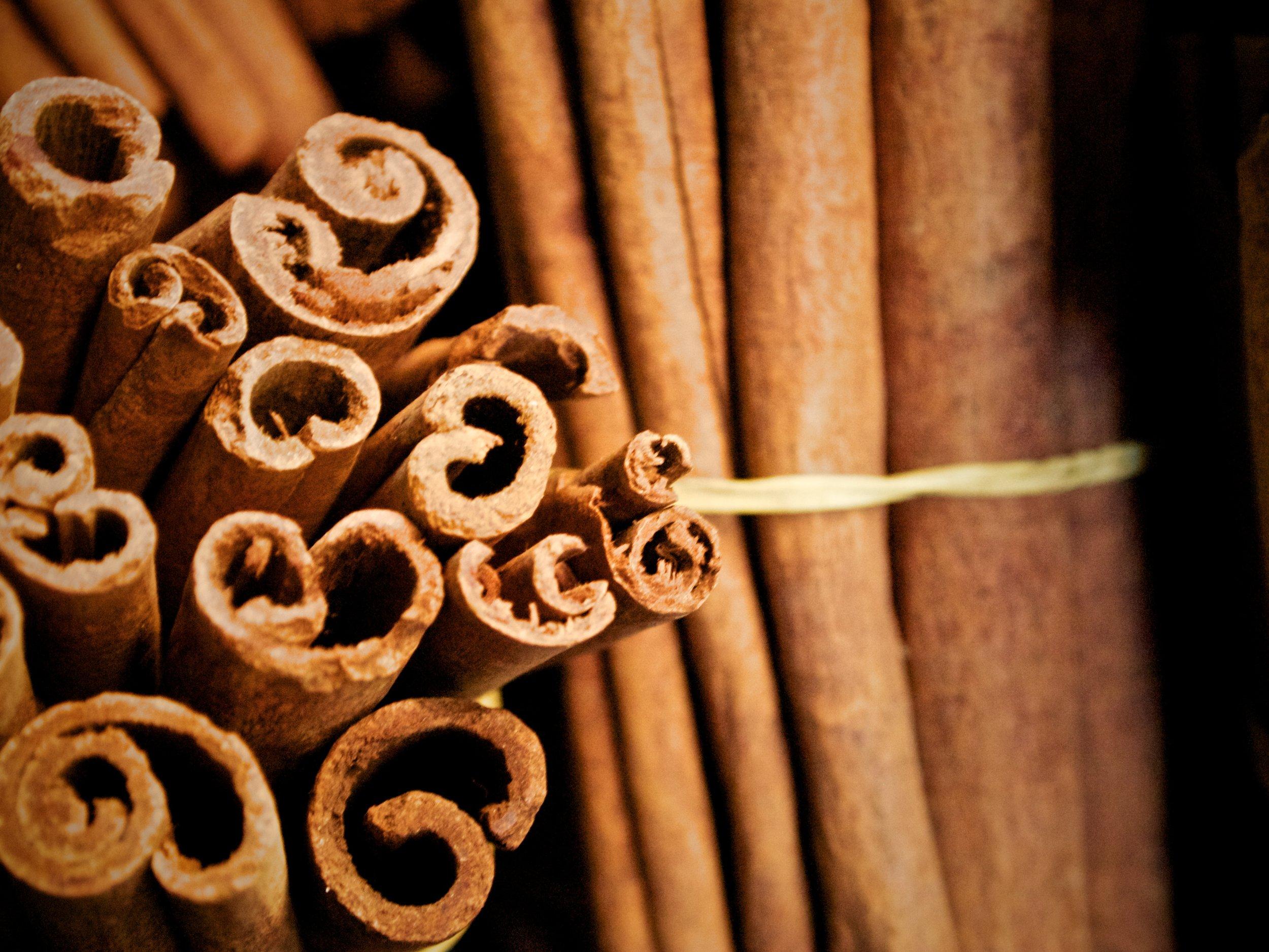 Then,cinnamon.