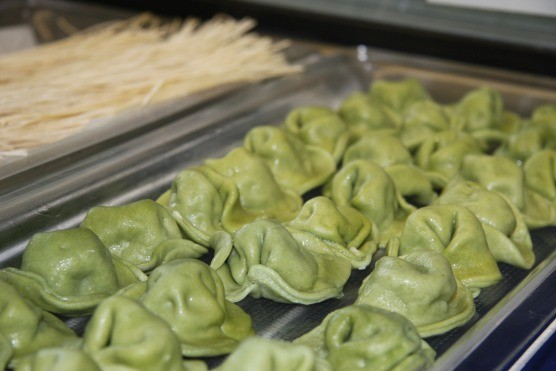 All delicious varieties of D'Amico's tortellini are made in-house.