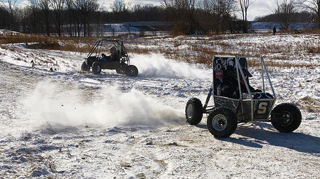 Had some fun in the snow today!