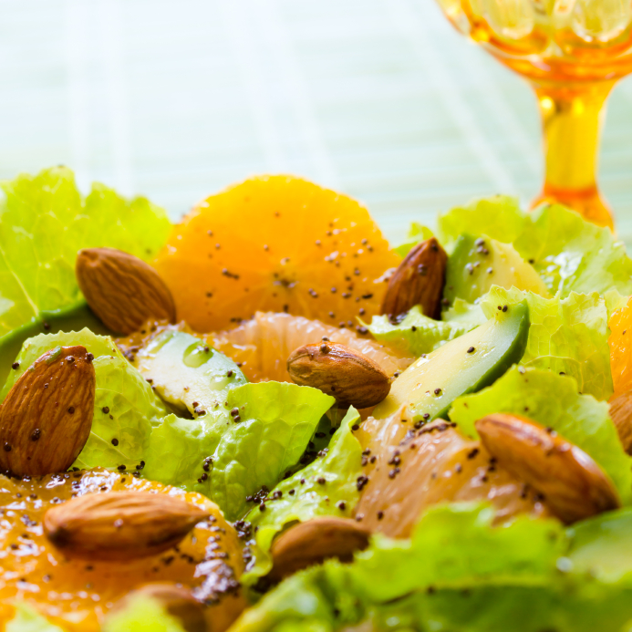 Poppy Seed Summery Citrus Salad