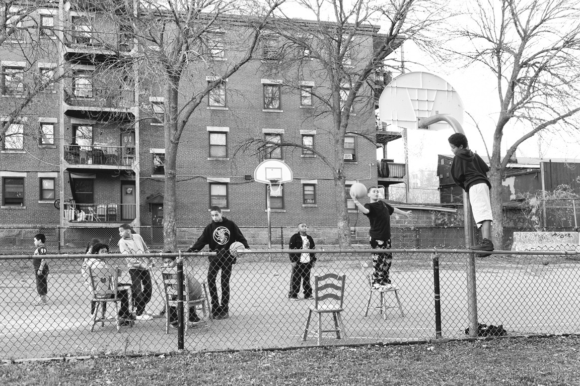 """kids playing basketball 