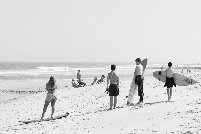 surfers, long beach island 2013