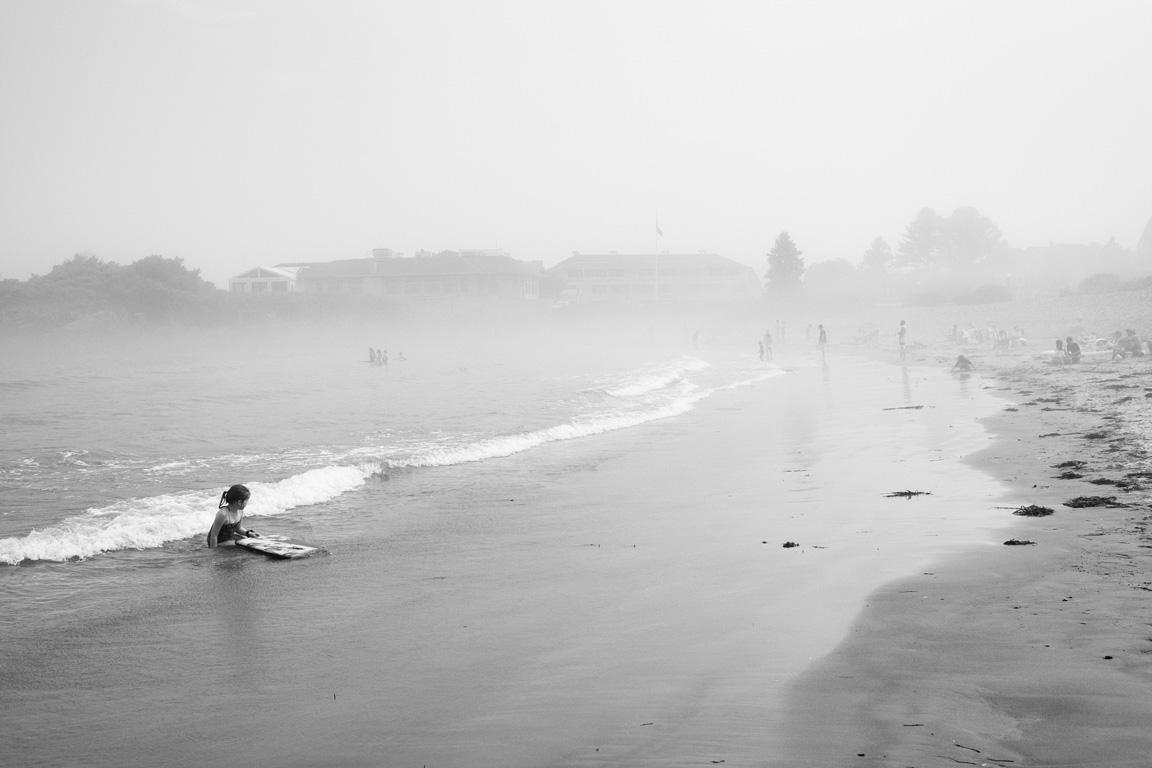 Foggy Day, York Beach