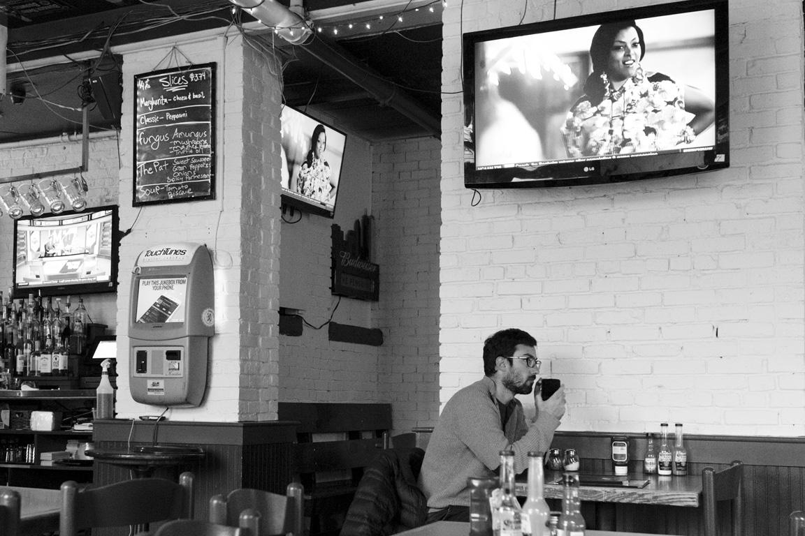 digital jukebox, conversation with imaginary friend | boston, 2016