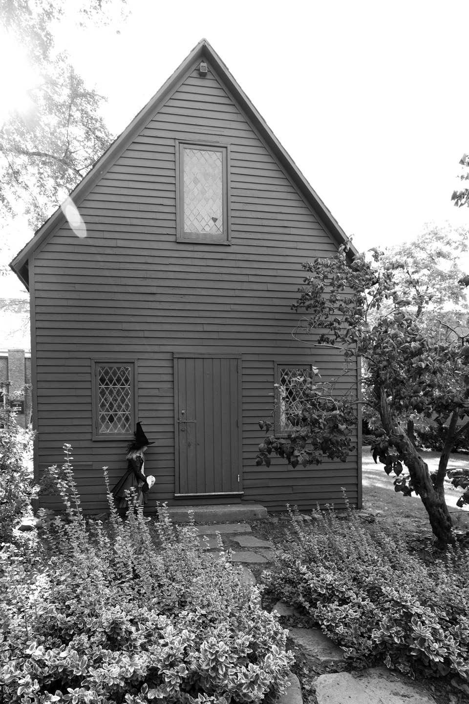 Contemplating – First Quaker Meeting House, 2011
