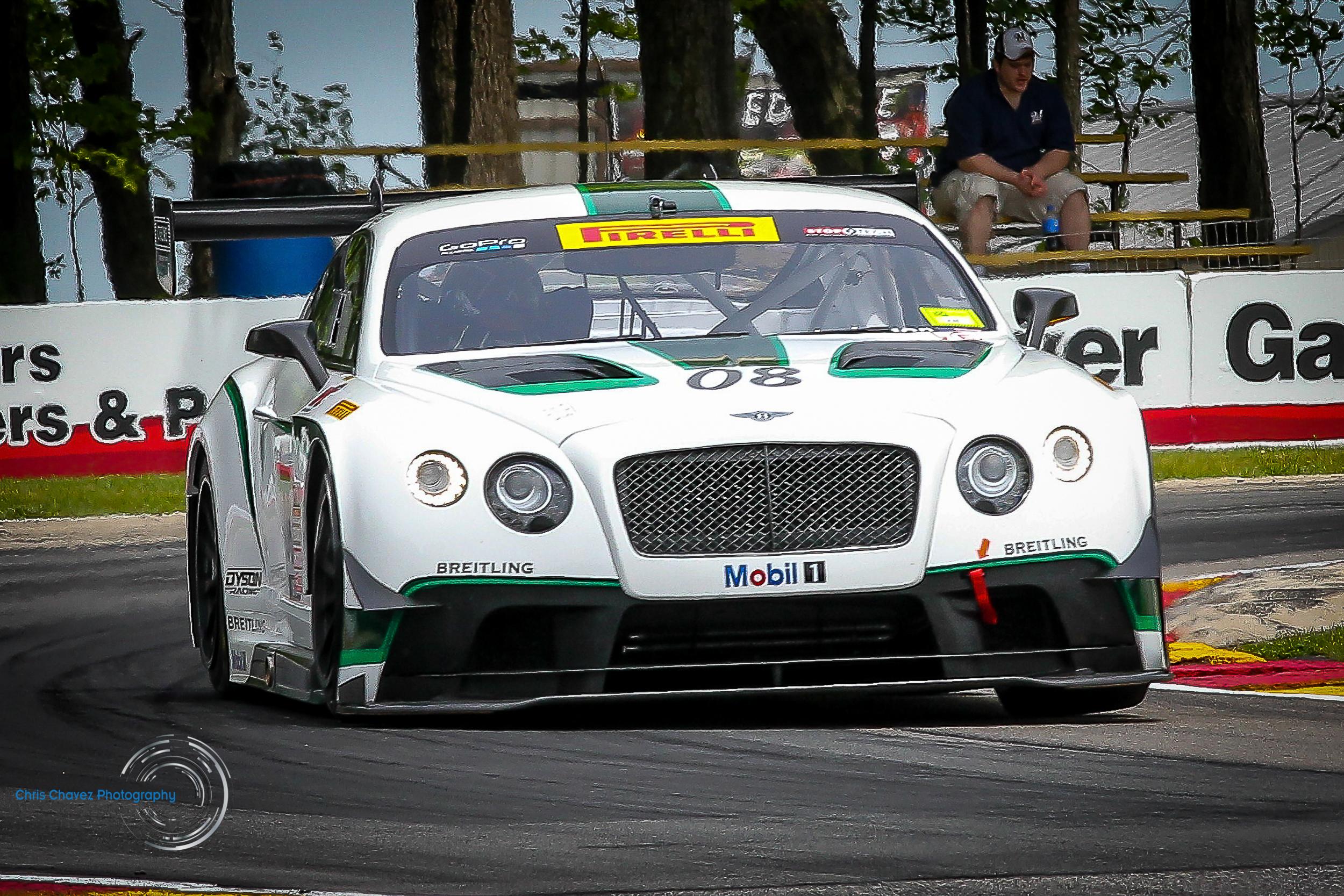 #08 Butch Leitzinger - Bentley Continental GT3 - Dyson Racing