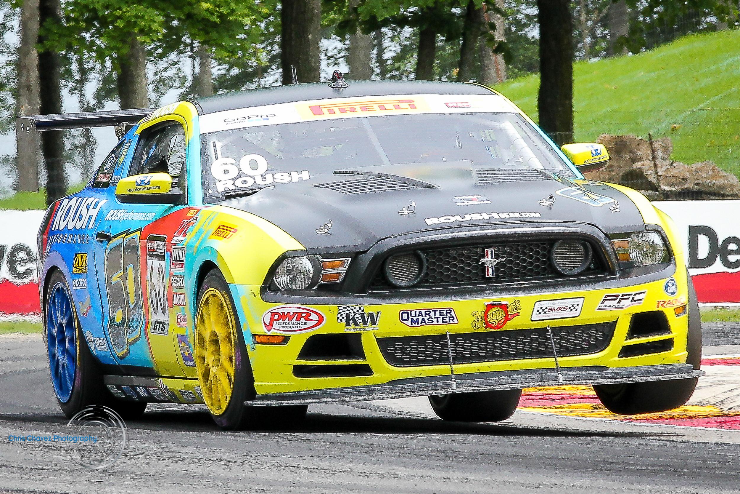 #60 Jack Roush Jr - Ford Mustang 302R - Roush Performance -