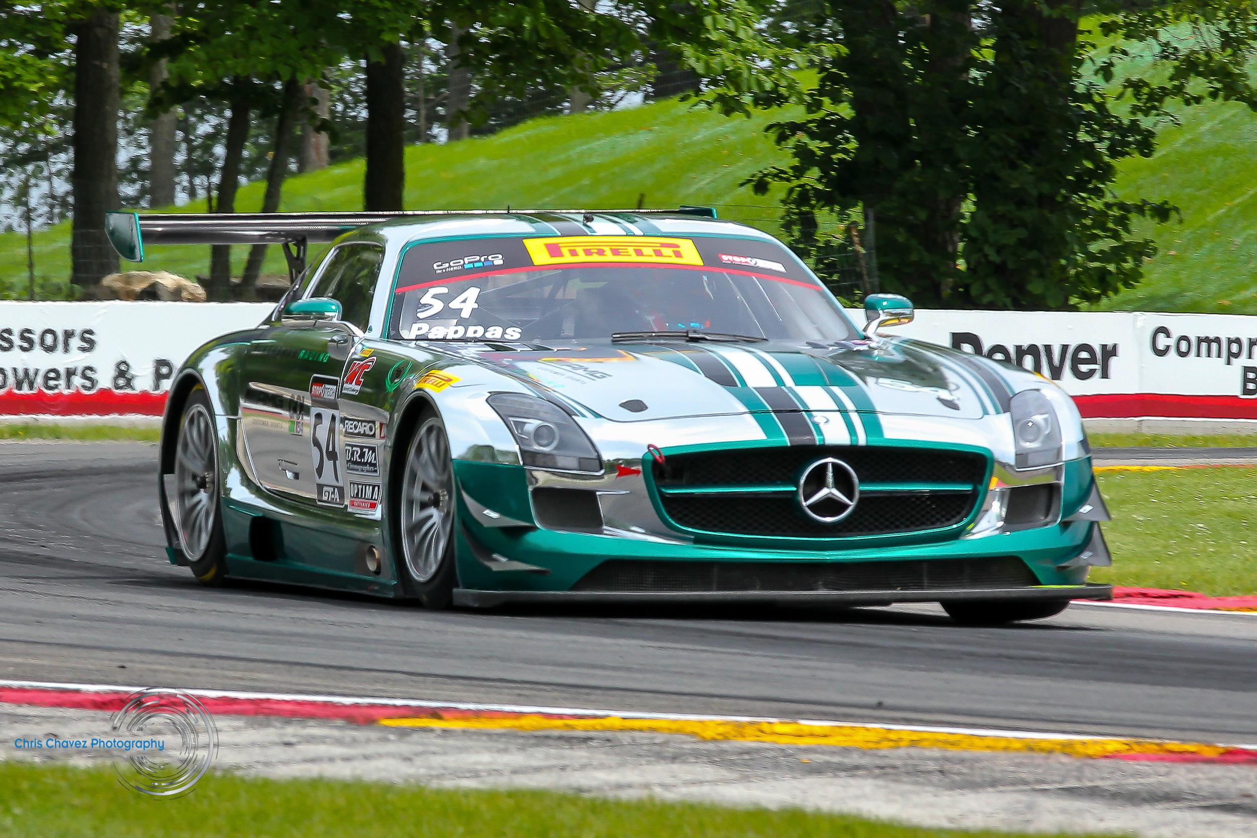 #54 Tim Pappas - Mercedes AMG SLS - Black Swan Racing