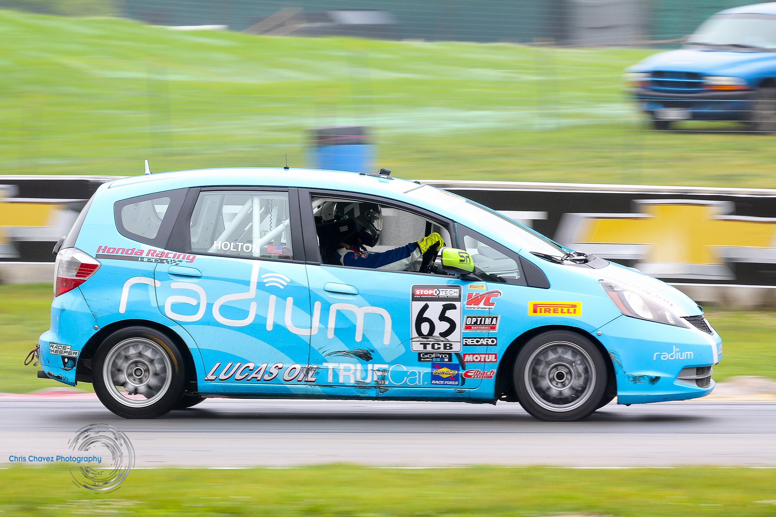 #65 Paul Holton - Radium - Honda Fit - First Place TCB Class