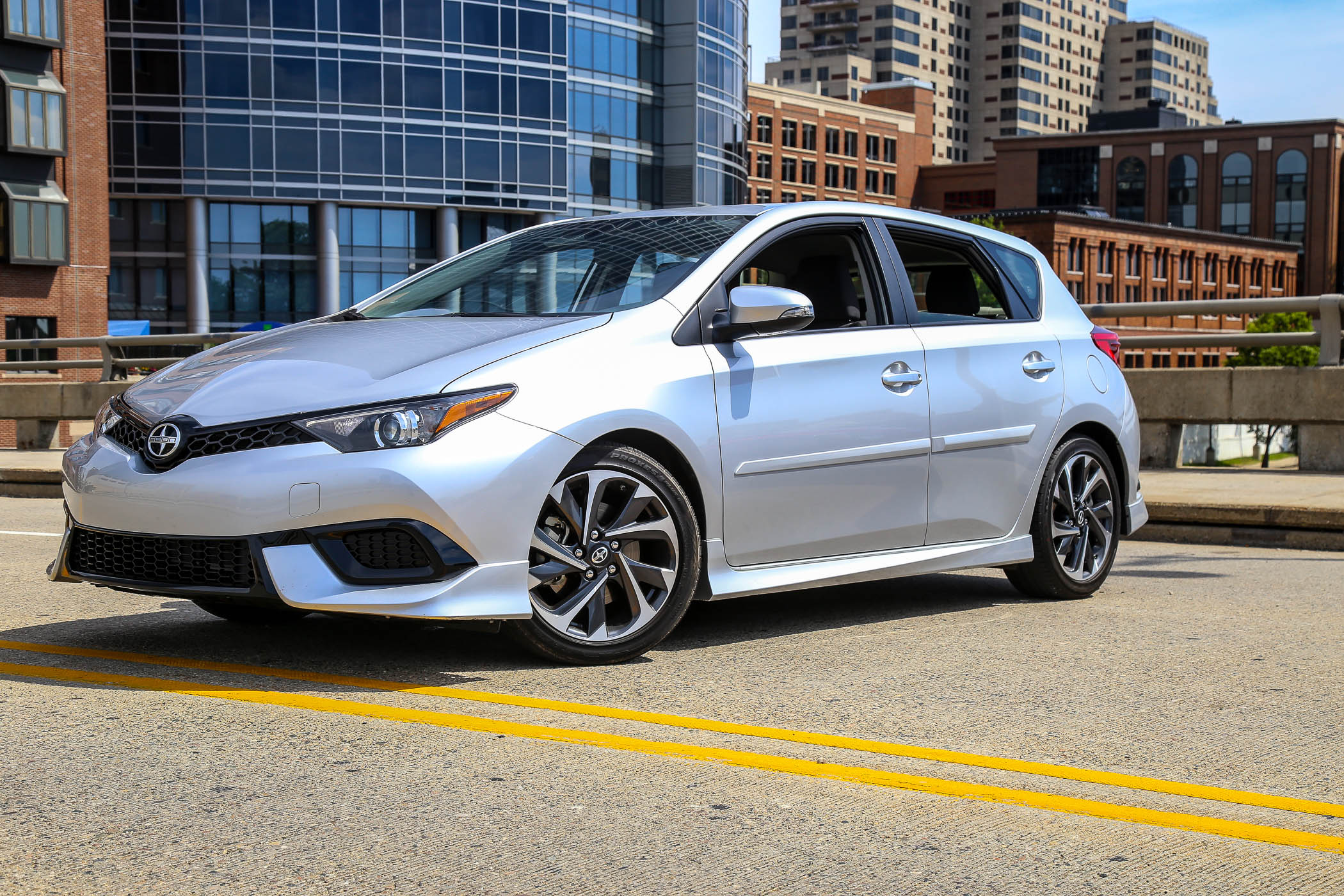 2016 Scion iM equipped with TRD package