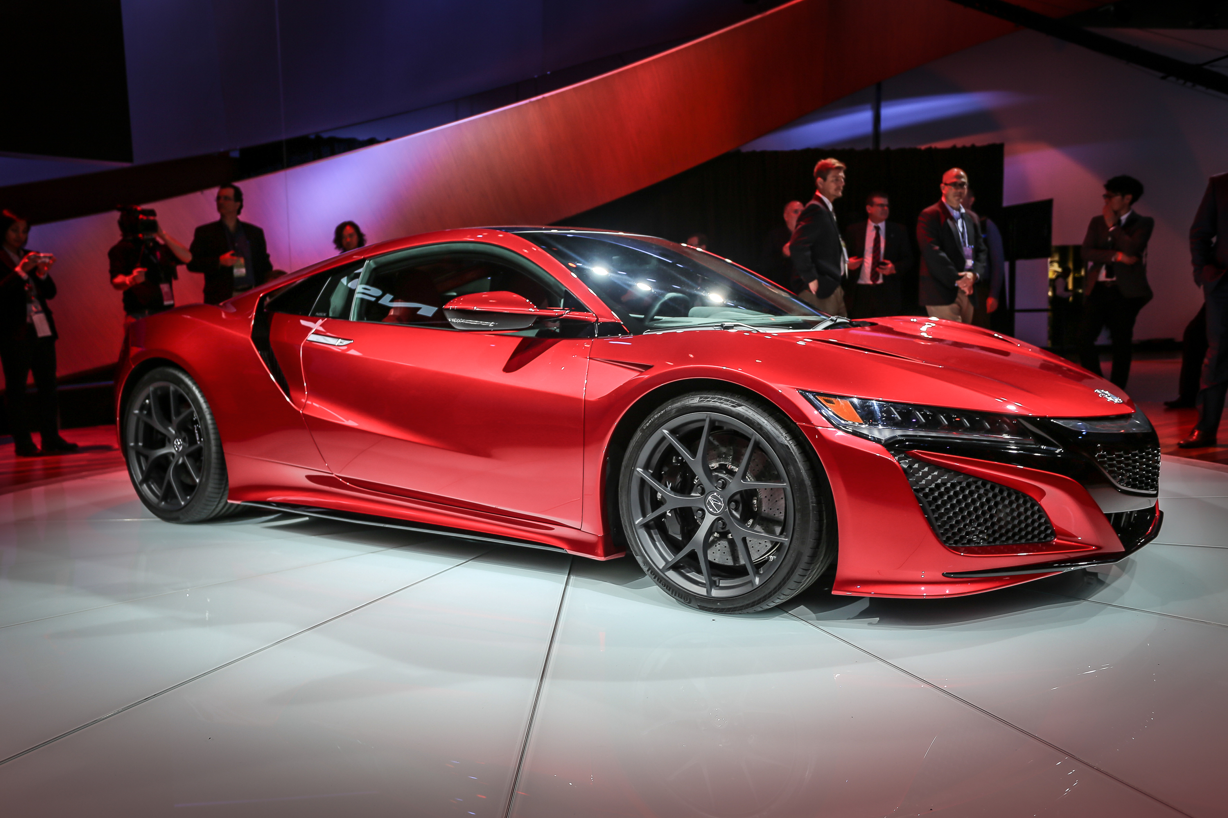 2016 Acura NSX - Click on Image for 2015 NAIAS Day 2 coverage