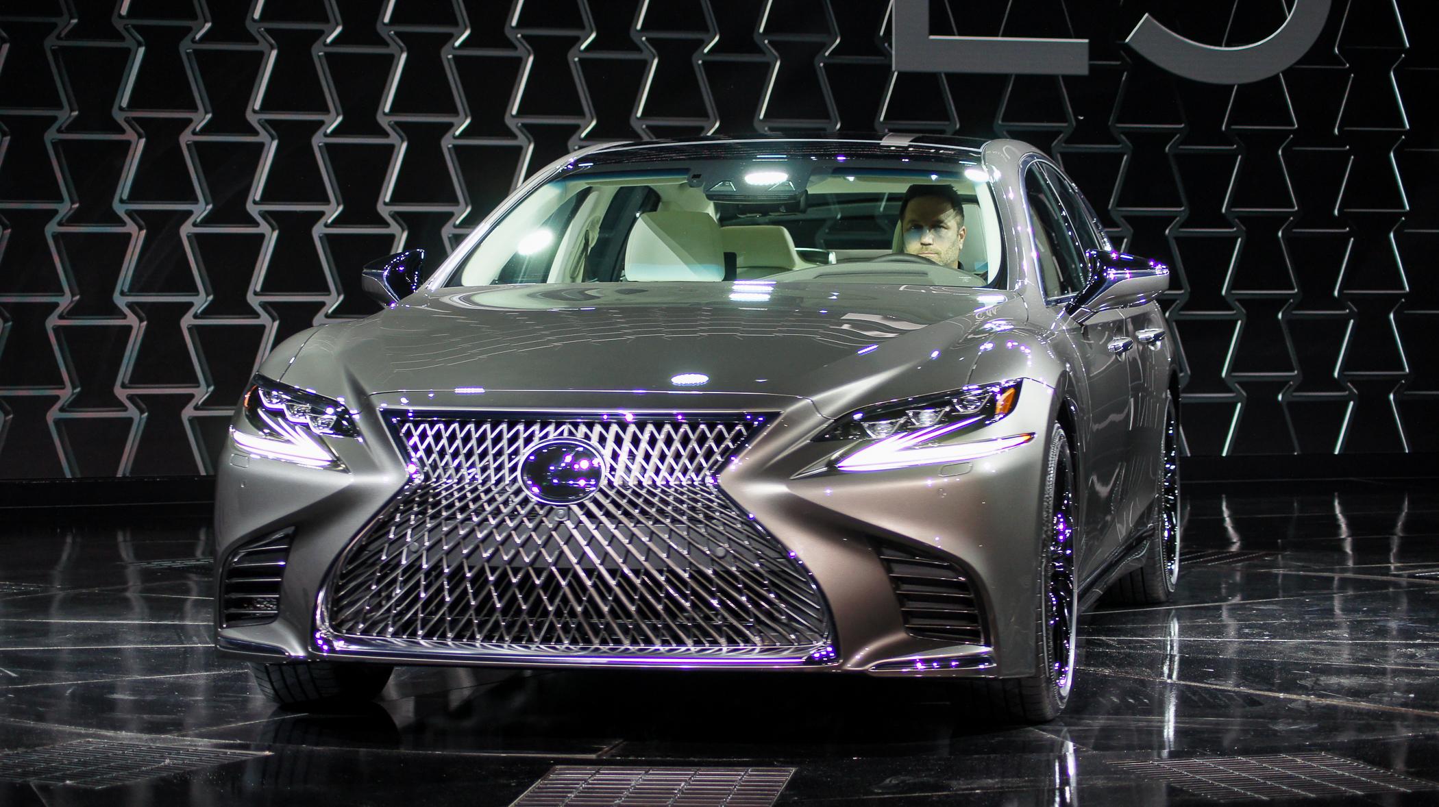 World Premier 2018 Lexus LS 500