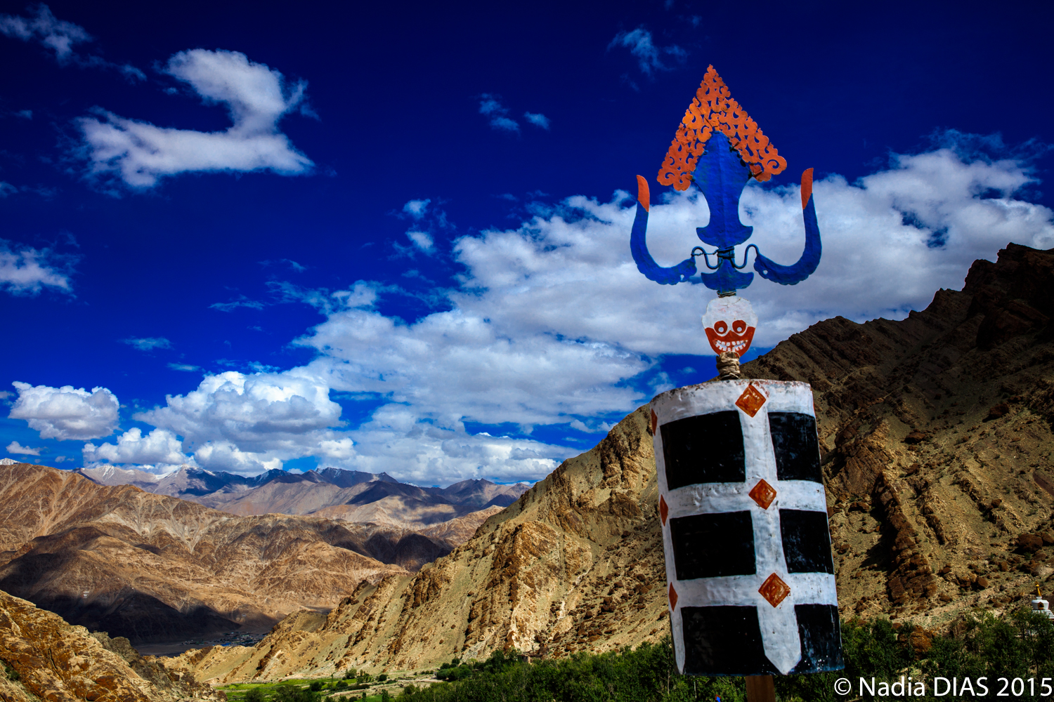 Astonishing leh in colour