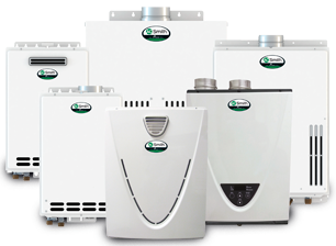 We repair, and service tankless on demand heaters.