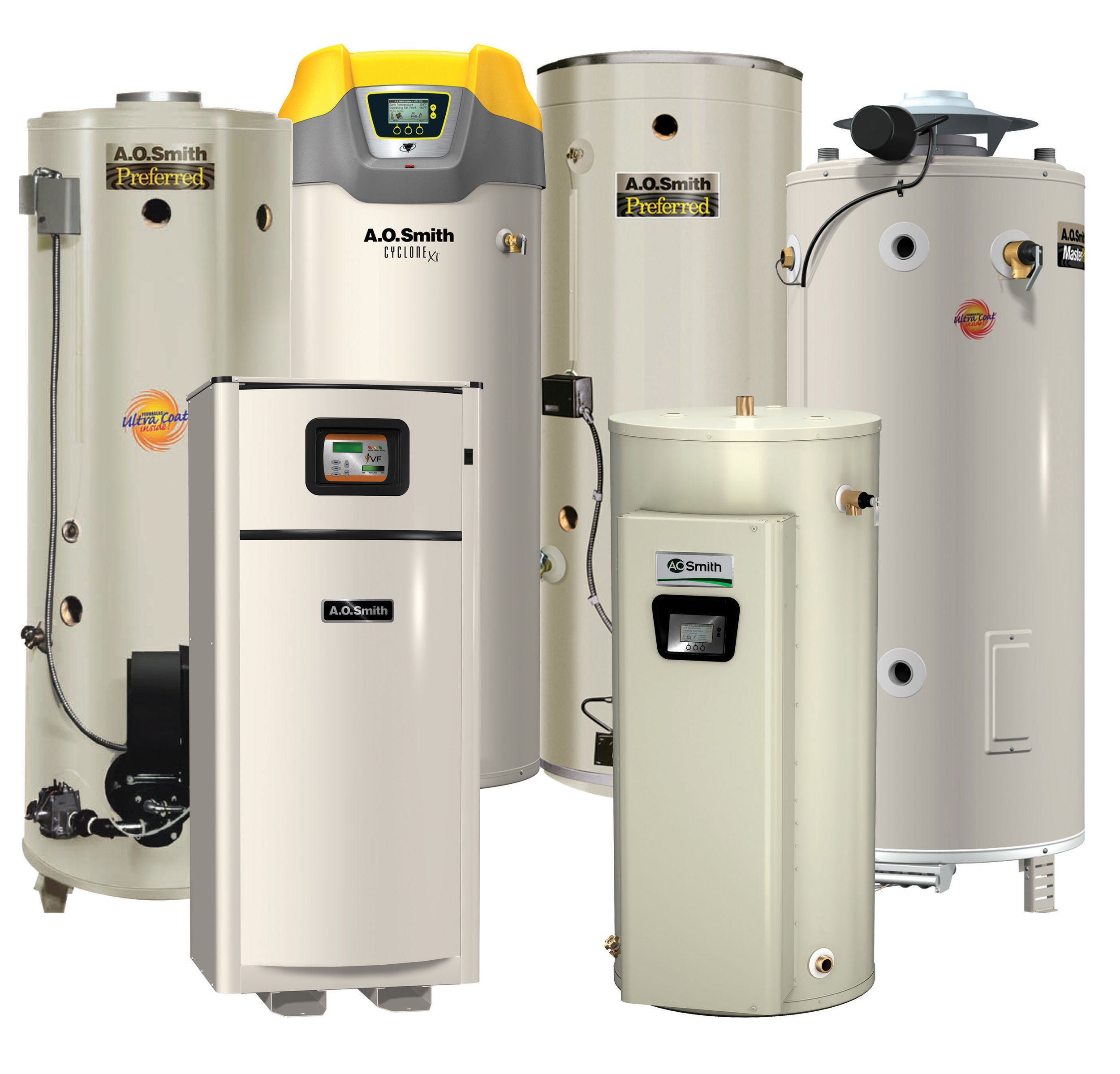We also repair, and service commercial water heaters, and boilers.  We now offer factory startups.