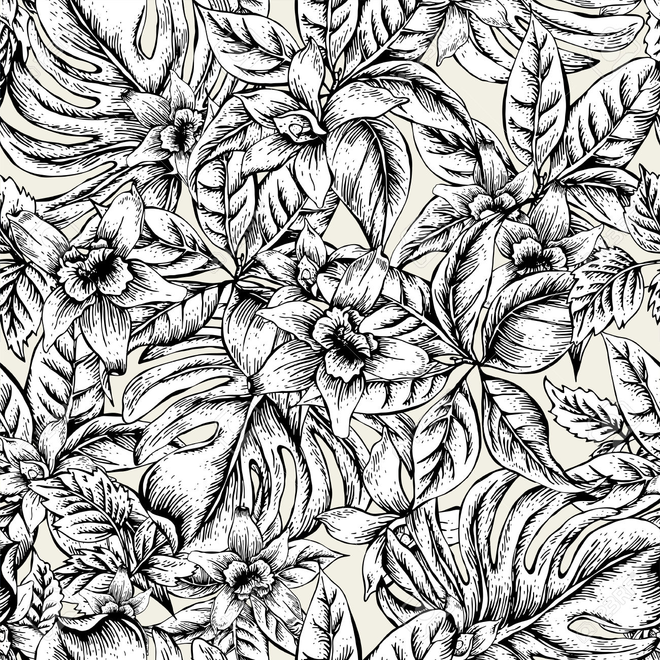 57232591-Natural-floral-leaves-exotic-vector-seamless-pattern-monochrome-flower-orchid-Black-and-white-tropic-Stock-Vector.jpg