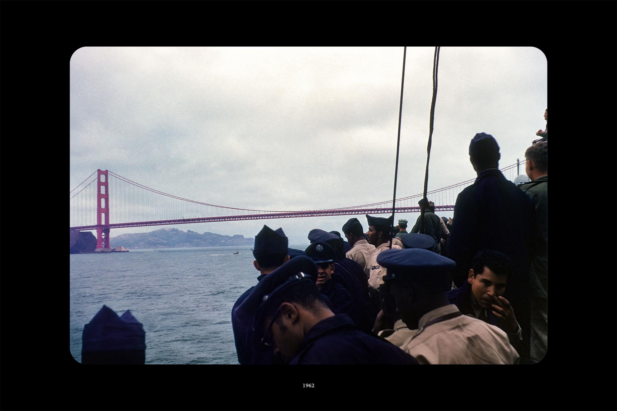 Mitchell Sturm- 'Arriving in San Francisco,' Borrowed Shoebox, Pt. II, 2015. Photograph 2.jpg
