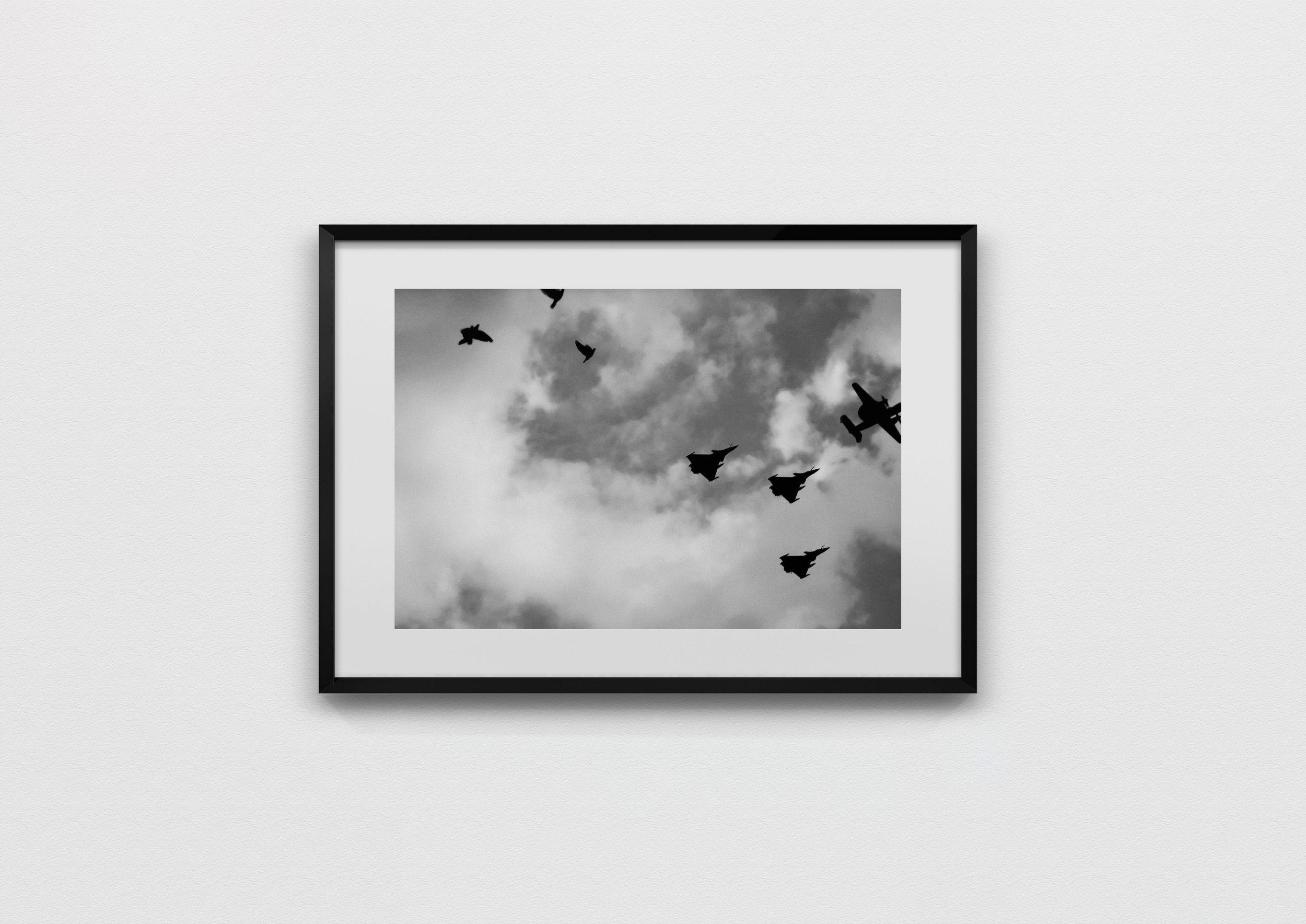 sky formation  Paris, France 2013  40 x 60 Archival Print, 50 x 70