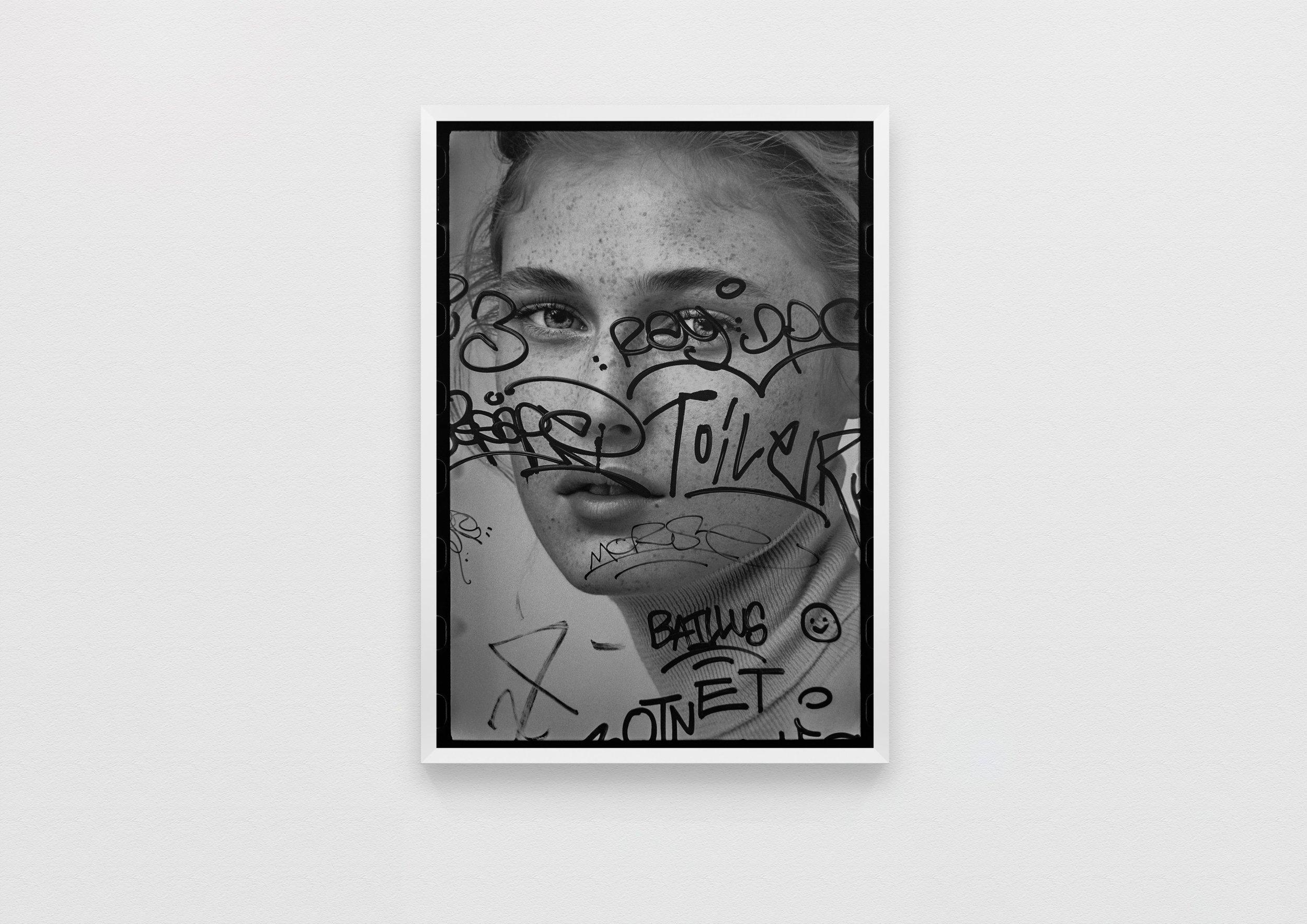 beauty tags  Paris, France 2018  50 x 70 Archival Print