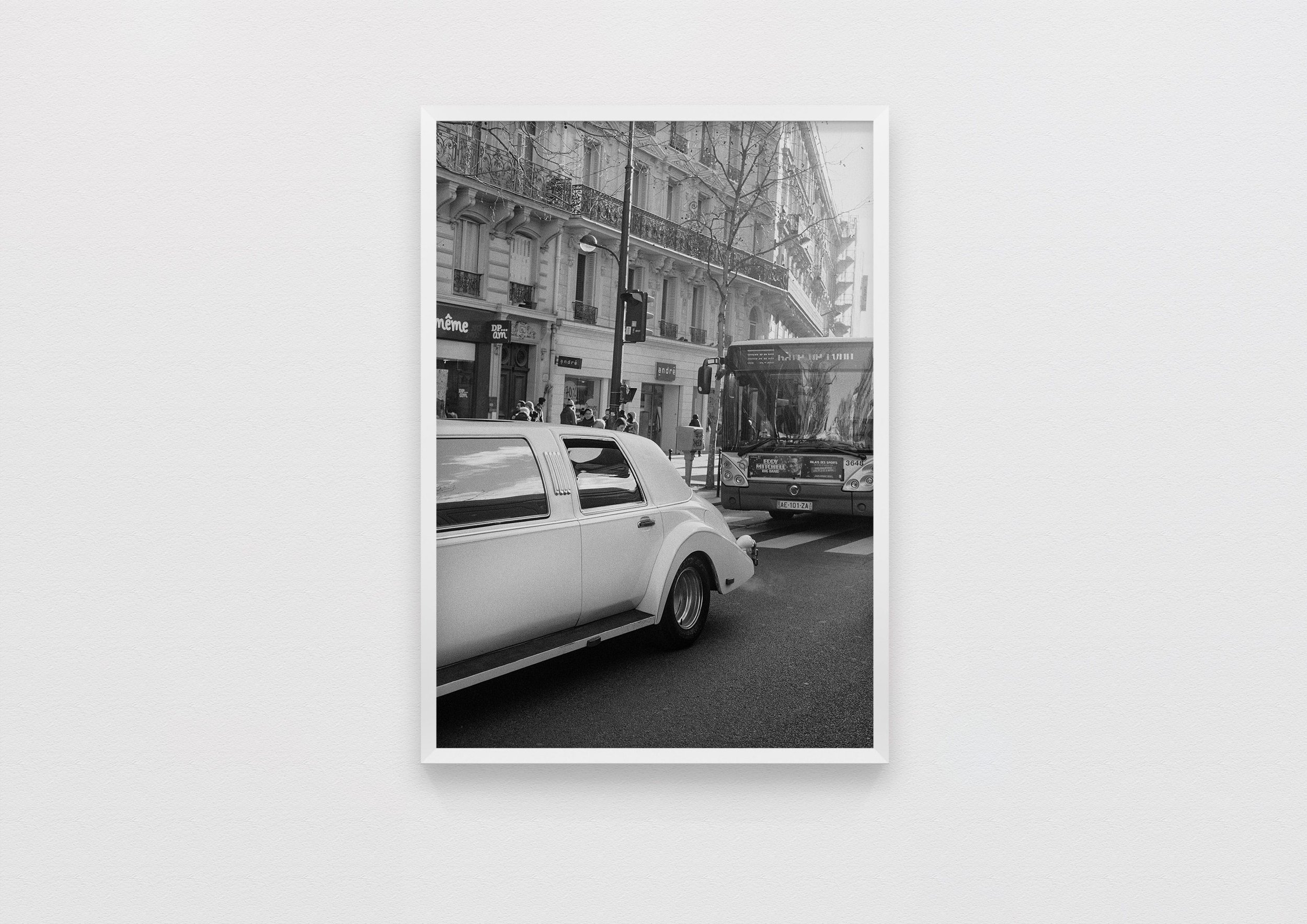 traffic  Paris, France 2017  50 x 70 Archival Print