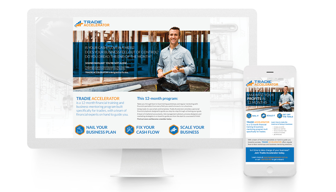 Website Design and Email Campaign Design
