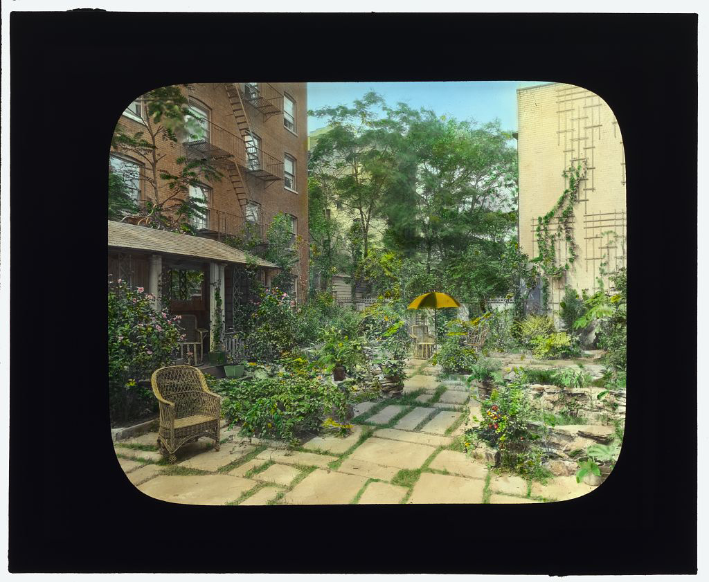 Photograph by Frances Benjamin Johnston of Charles Clinton Marshall house, 117 West 55th Street, NYC.   Library of Congress.   ppmsca 16138  http://hdl.loc.gov/loc.pnp/ppmsca.16138
