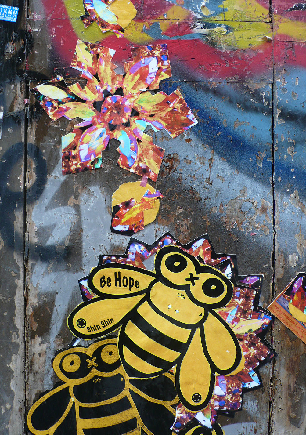 Abundance and Bees, Barcelona (detail)