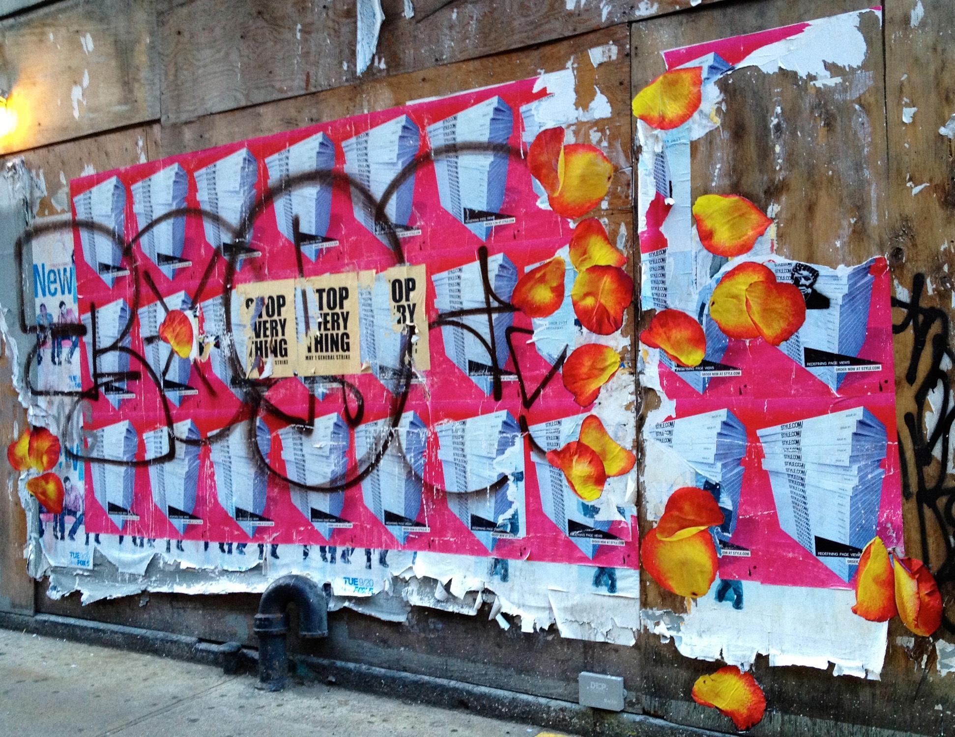Cornelia Street Petal Toss, NYC