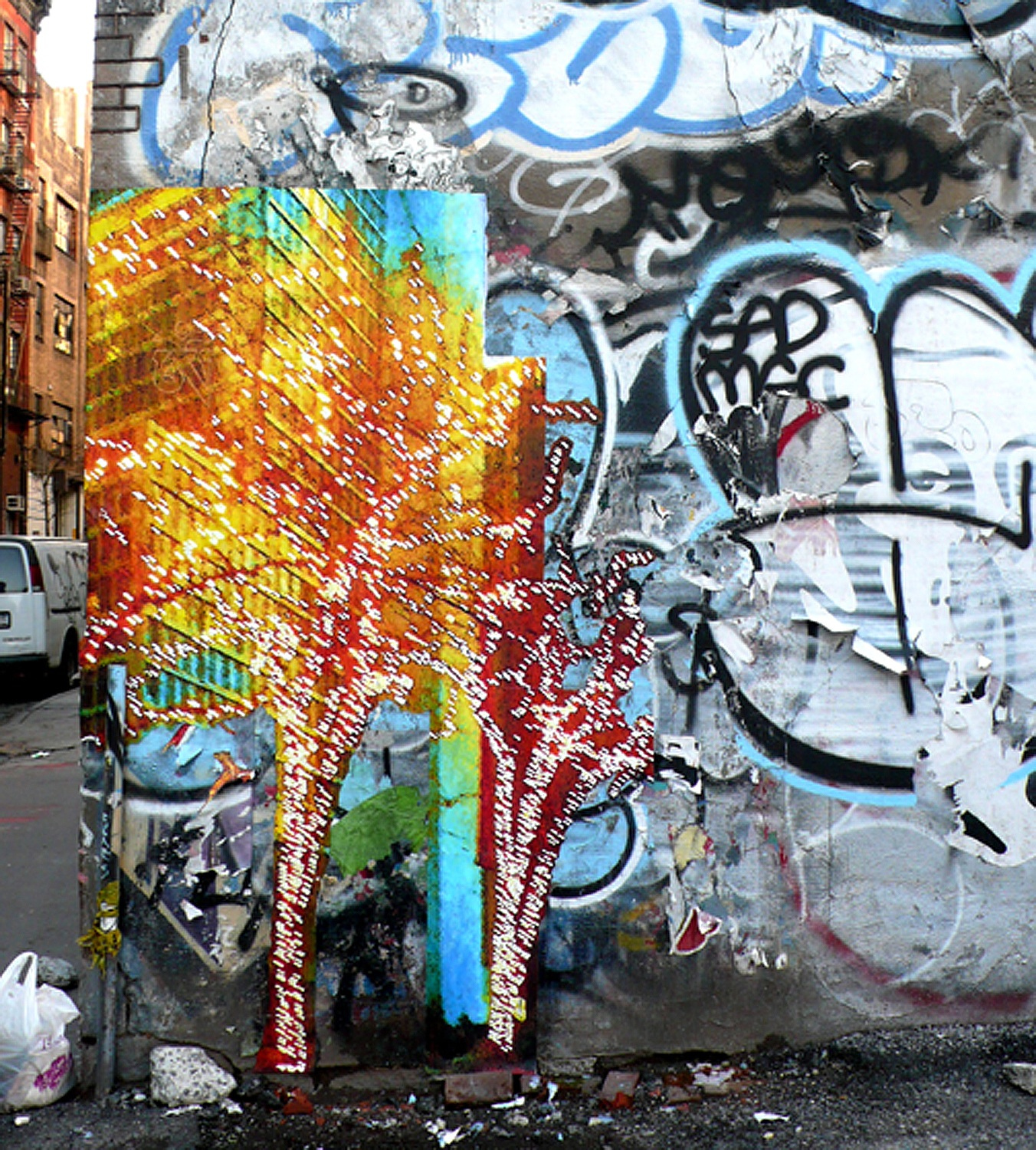 Om Tree on Wooster St., NYC