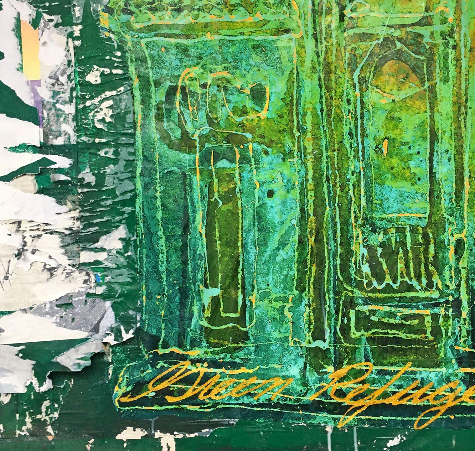 Green Refuge (detail), Spring St., NYC