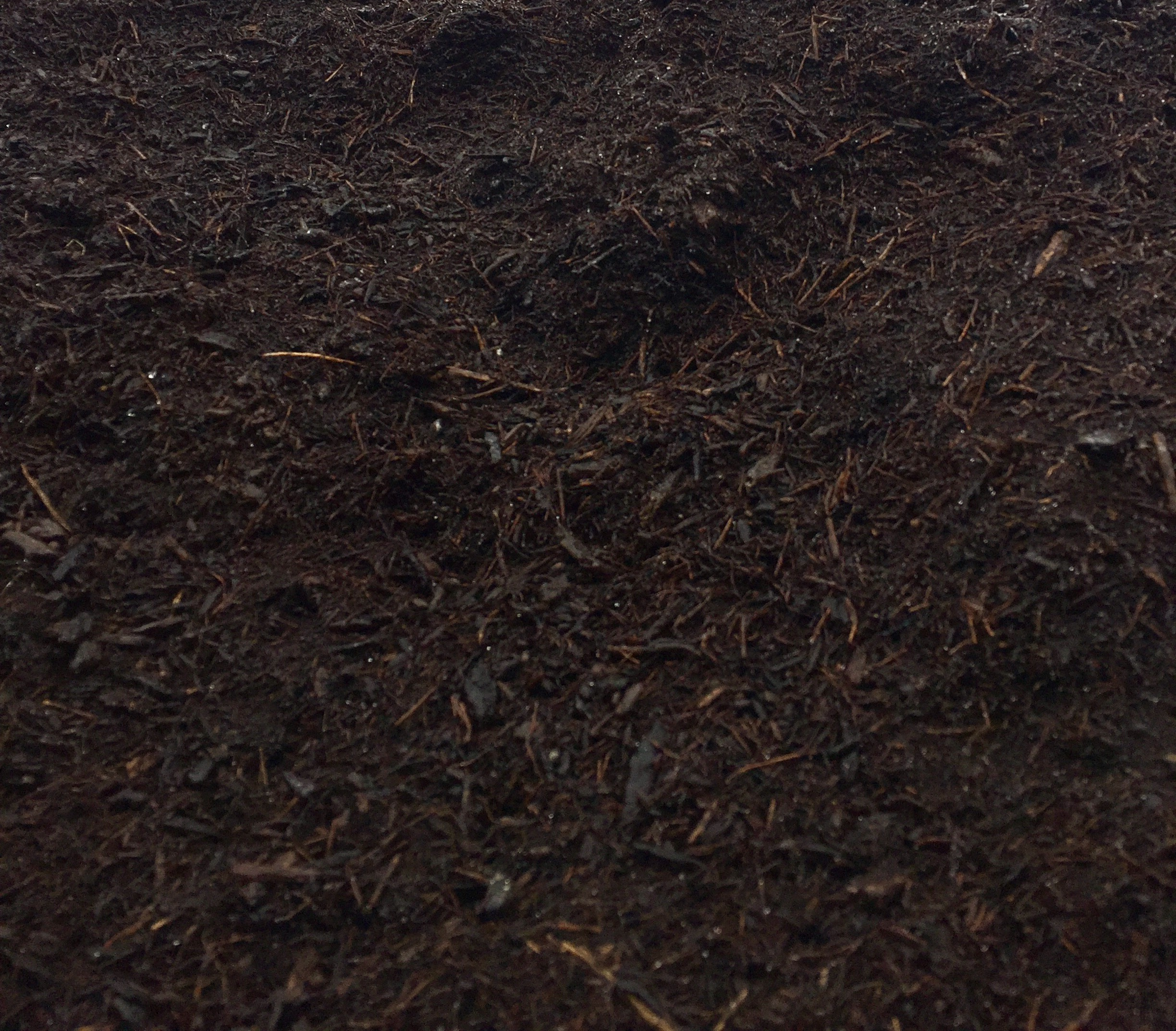TRIPLE GROUND BARK  $25 A great buy for the price! Naturally dark and rich in color and made from a variety of woods, this shredded bark holds moisture in garden beds and will break down faster than other mulches providing nutrients to the soil.