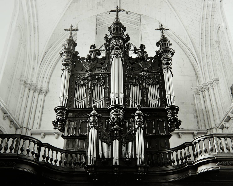 Pipe Organ (L'Église de Saint-Pierre, Saumur, France)