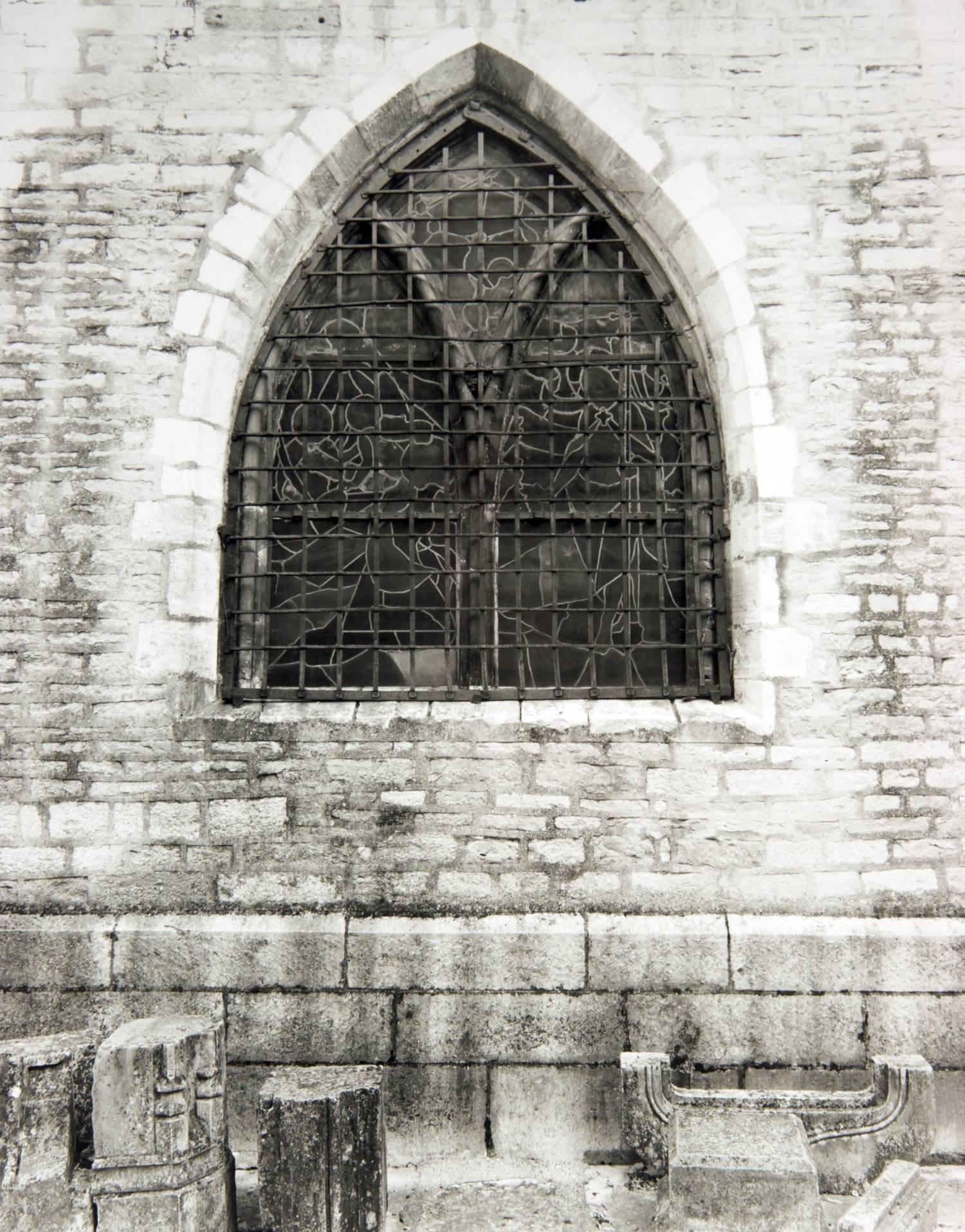Window with Stones (Basilique Notre Dame, Beaune, France)