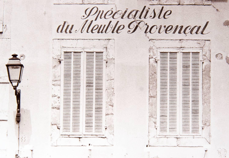 Shuttered Windows - View 1 (L'Isle sur la Sorgue, France)