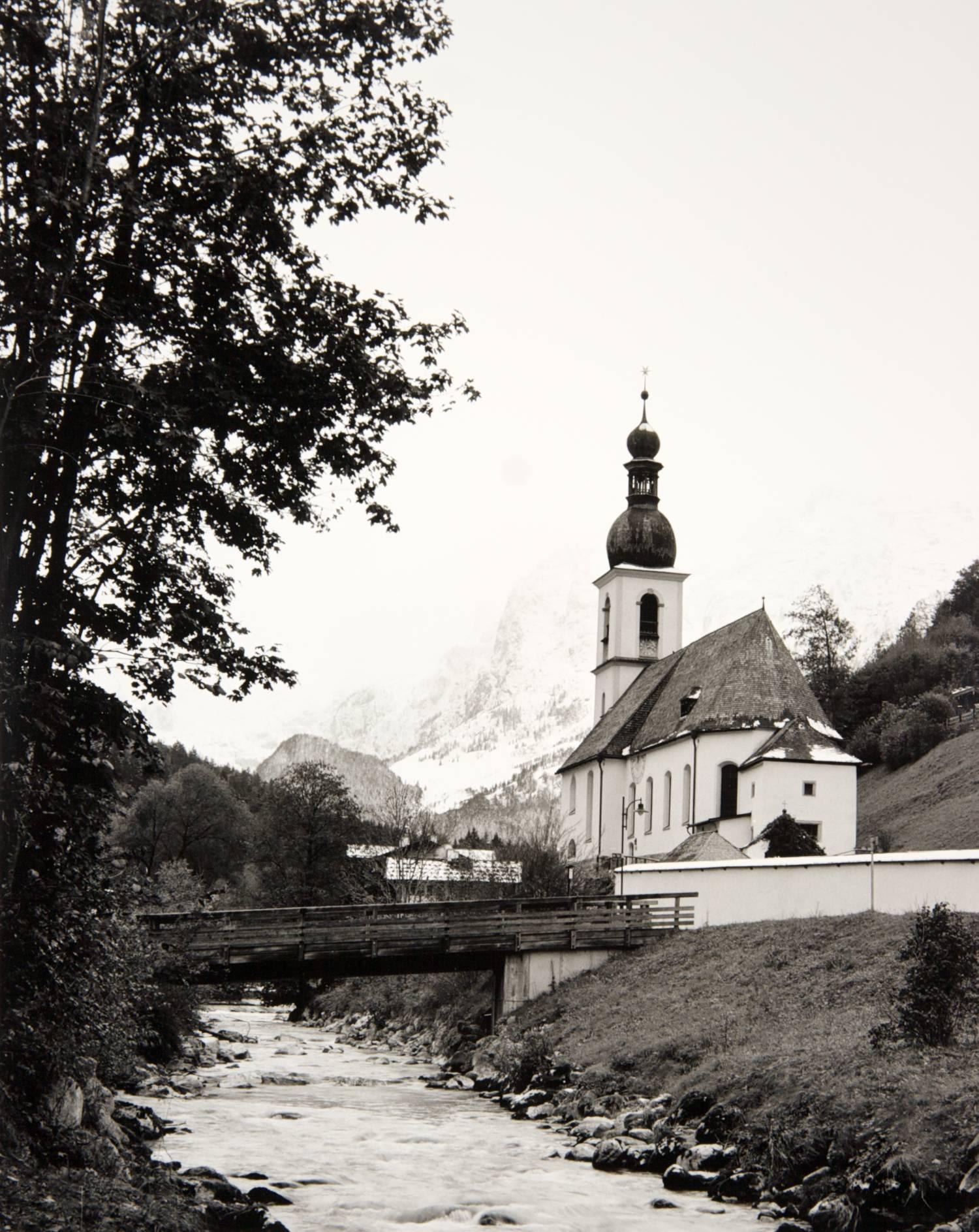 Church in Ramsau (Germany)