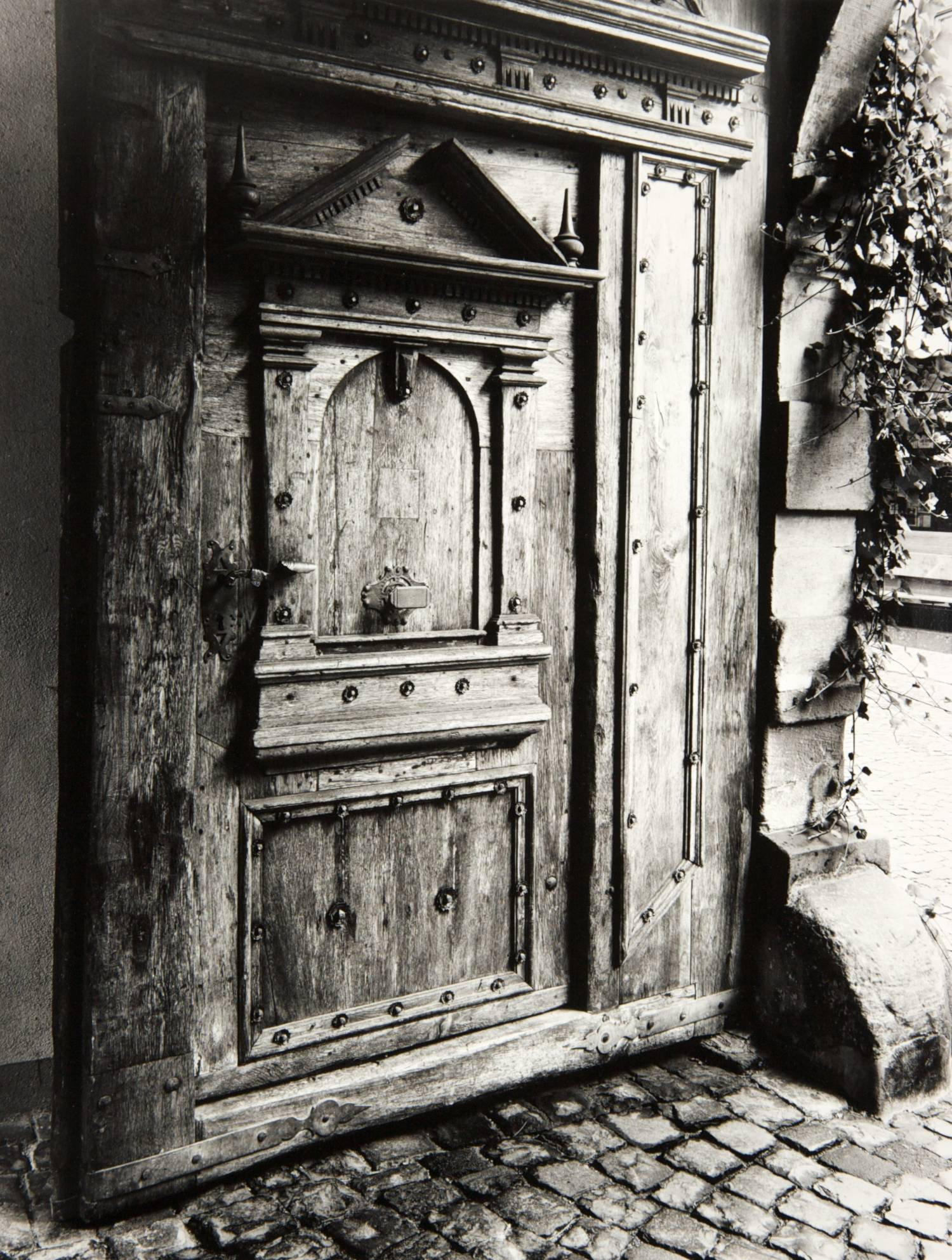 Door in Bacharach (Germany)
