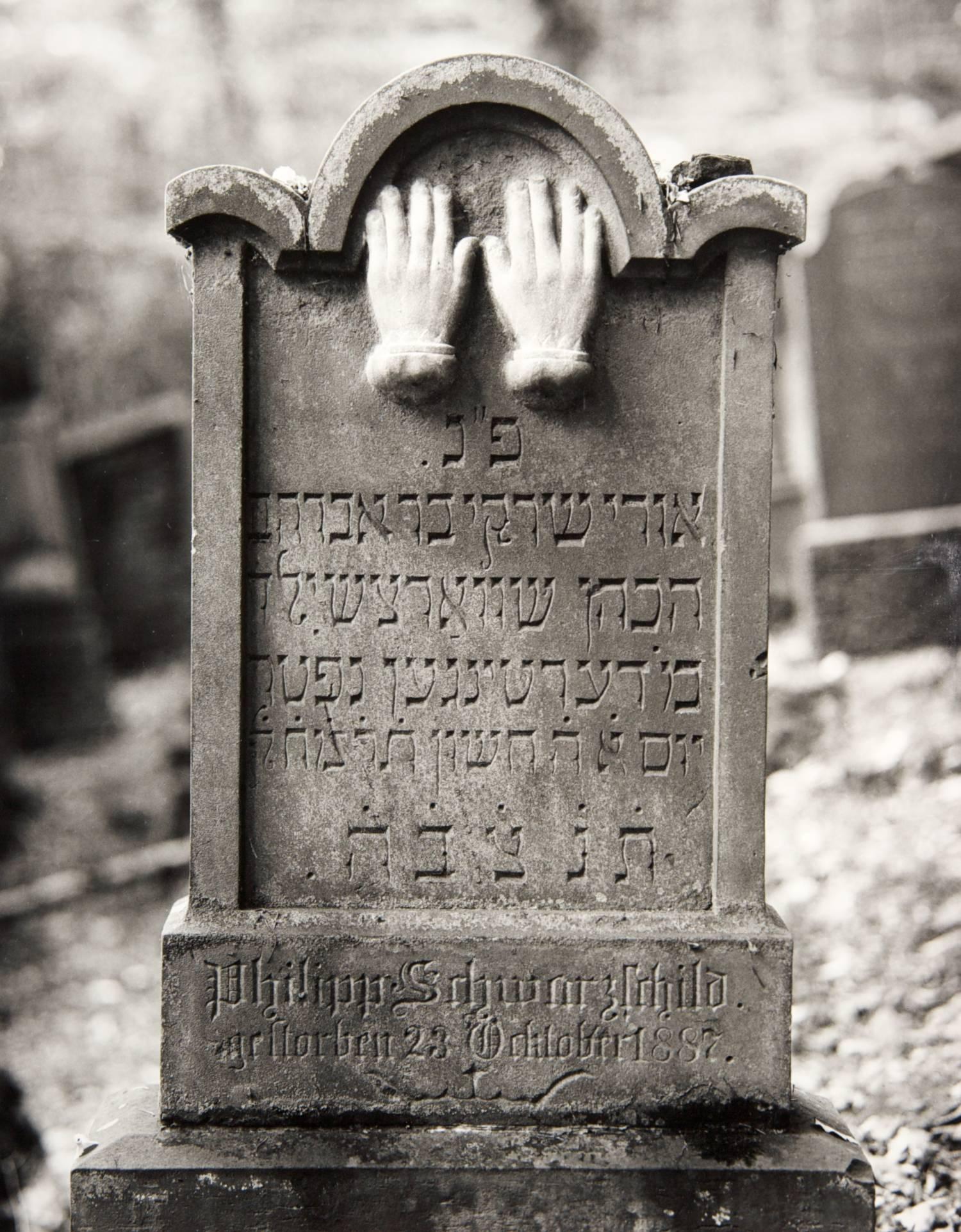 Hands (Infant's Gravestone, Wertheim, Germany)