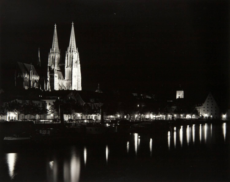 Night in Regensburg (Germany)