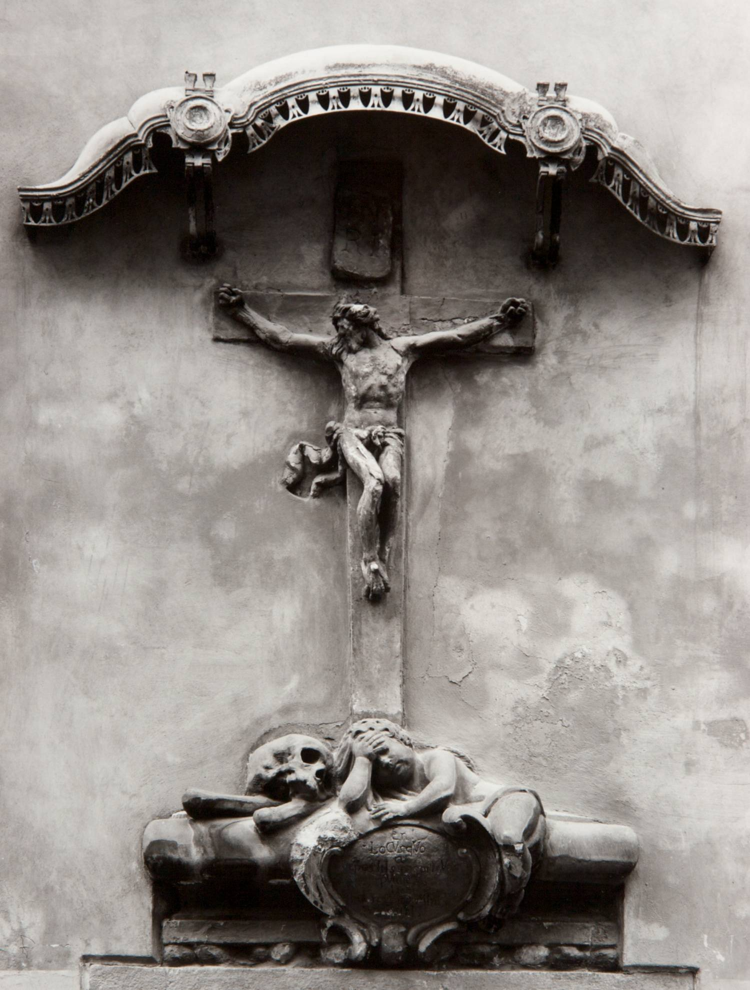 Crucifix at St. James (Prague, Czech Republic)