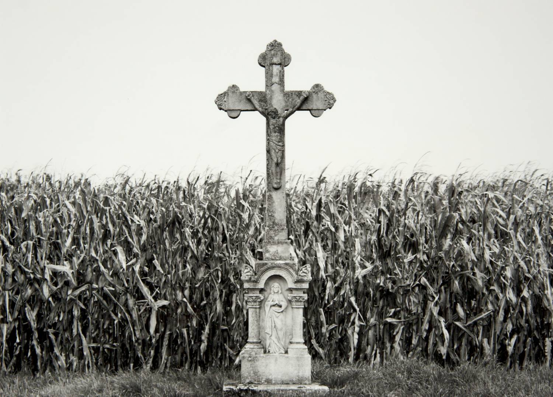 Crucifix in Counryside (Hungary)
