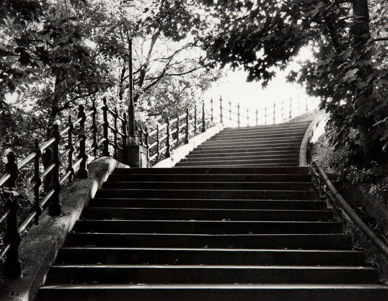 Stairs on Gellert HIll (Budapest, Hungary)