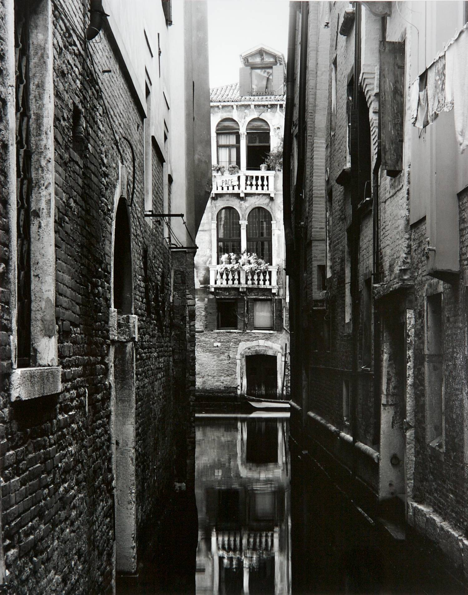 Peace in Venice (Italy)