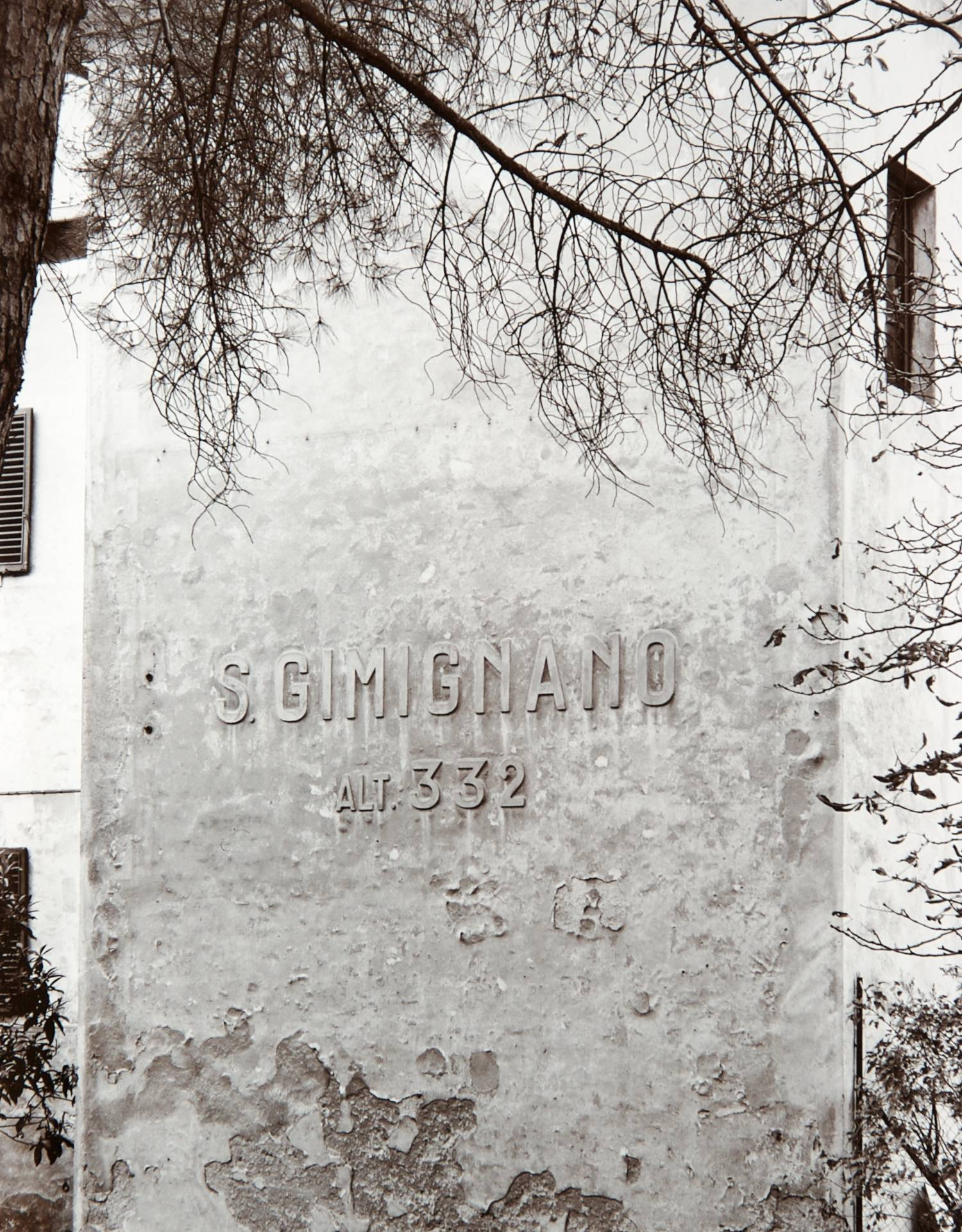 San Gimignano Sign (Italy)