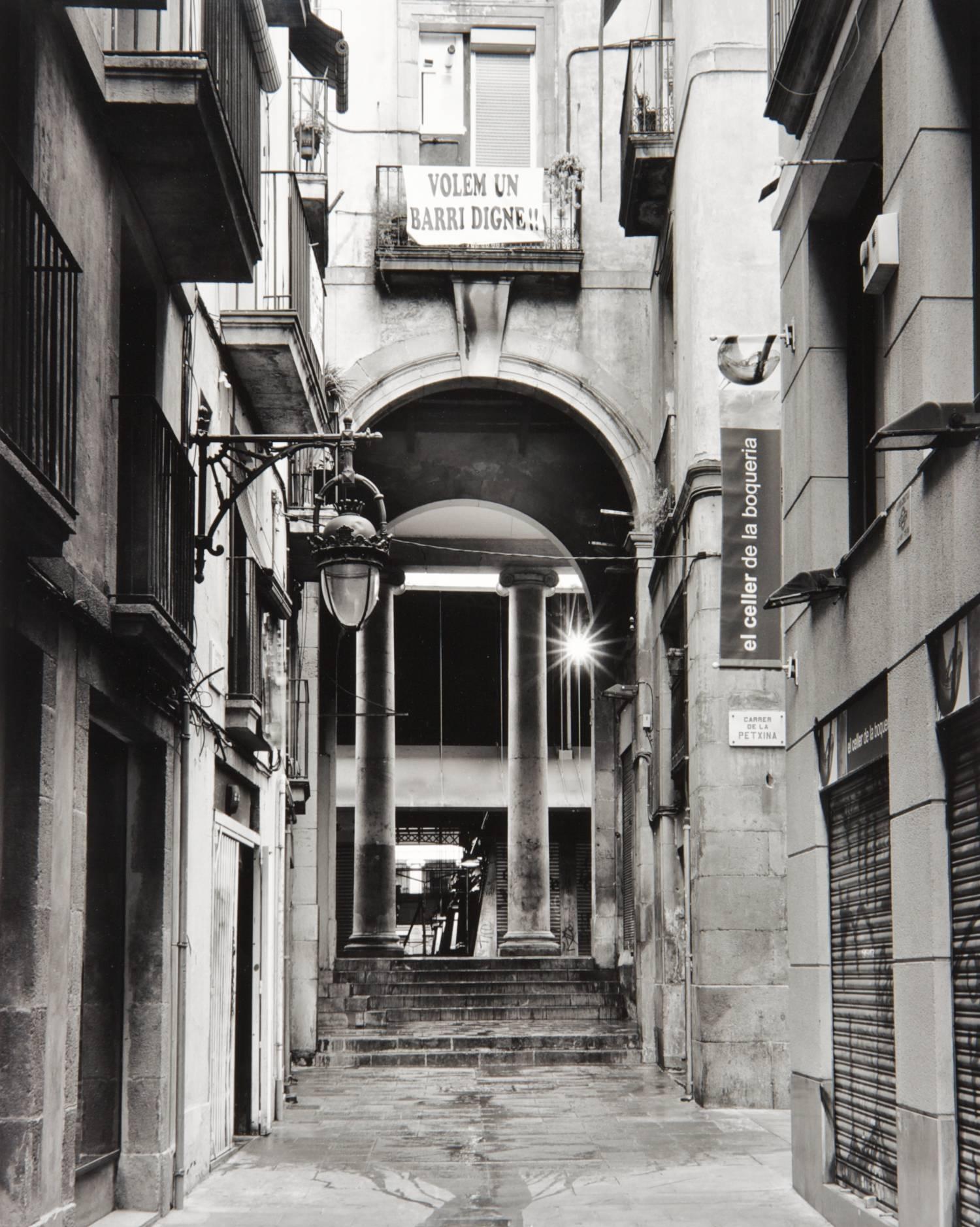Passage in Barcelona (Spain)