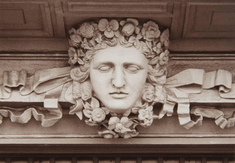 Face in Barcelona (Spain)